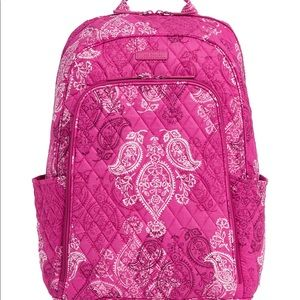 🆕Vera Bradley Laptop Backpack - Stamped Paisley